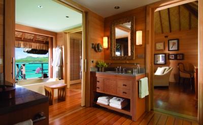 Bora Bora Four Seasons Resort Bathroom 1