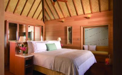 Bora Bora Four Seasons Resort Bedroom