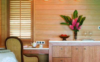 Bora Bora Four Seasons Resort Living Room
