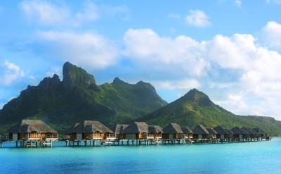 Bora Bora Four Seasons Resort Overwater Villas