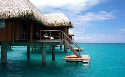 Bora Bora Nui Resort & Spa Overwater Bungalow 3