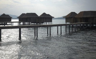 early morning behind 2 bed overwater villa_6589