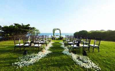 Alila Villas Soori - Wedding Decor 11