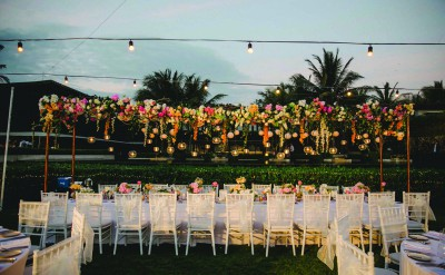 Alila Villas Soori - Wedding Decor 15