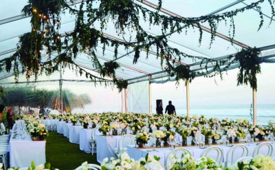 Alila Villas Soori - Wedding Decor 23