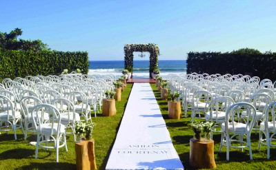 Alila Villas Soori - Wedding Decor 39