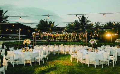 Alila Villas Soori - Wedding Decor 41