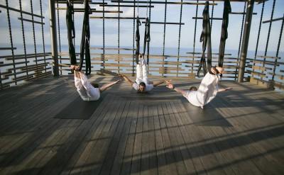 Uluwatu - Alila Villas Uluwatu - Aerial Yoga 02