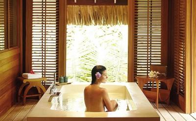 2BD Beach Villa Master Bath