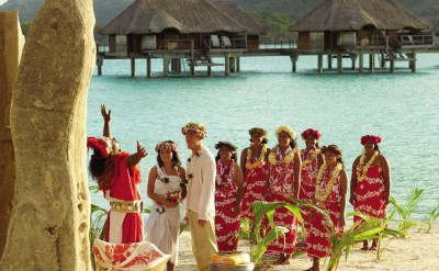 Polynesian Beach Wedding