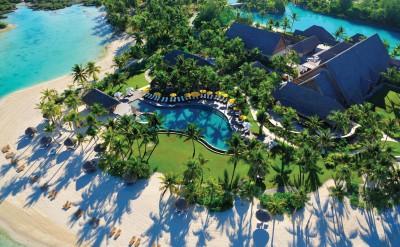 Pool & Beach Aerial