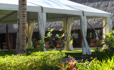 Tent View to Arii Moana Restaurant