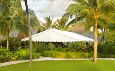 Tent on Arii Moana Lawn Exterior