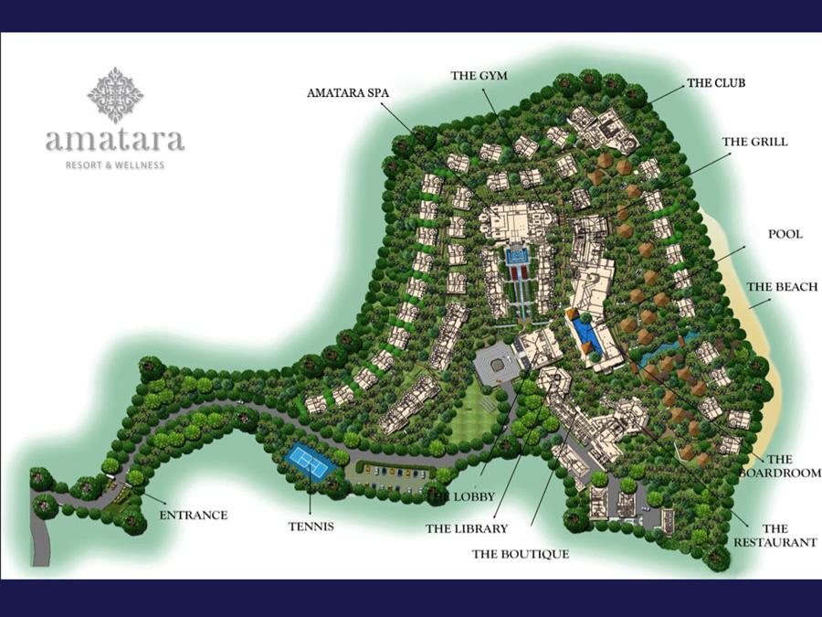 普吉岛攀牙角阿玛塔拉度假村<br/>Amatara Resort &#038; Wellness