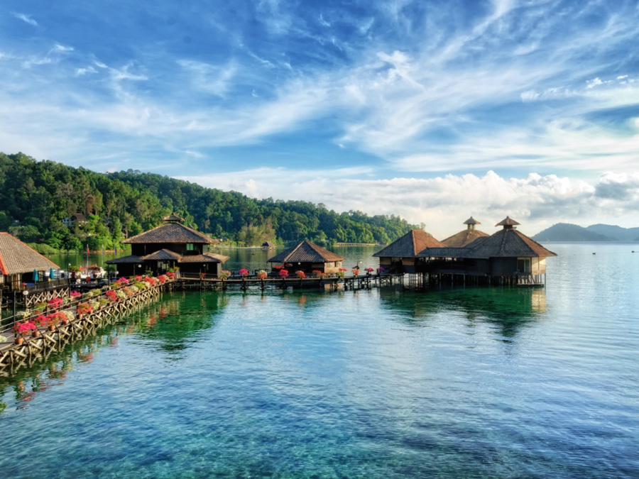 马来西亚沙巴盖亚纳生态度假村<br/>Gayana Eco Resort