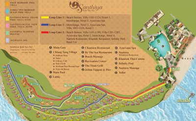 Resort Map SYY 3000