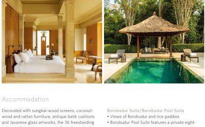 Indonesia - Amanjiwo, Java - Fact Sheet _Original_12398-3