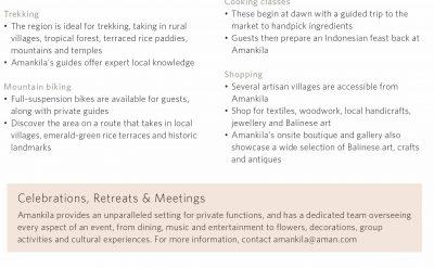 indonesia - Amankila, Bali - Fact sheet _Original_12401-6