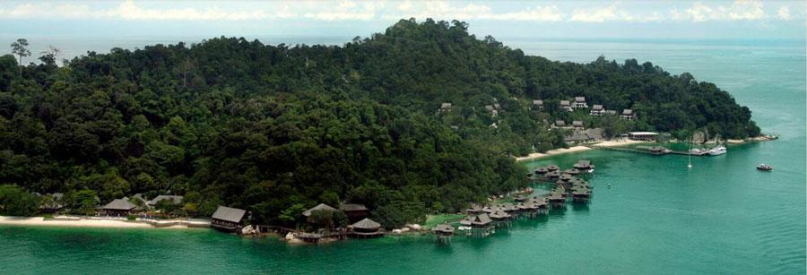 马来西亚绿中海度假村<br/>Pangkor Laut Resort