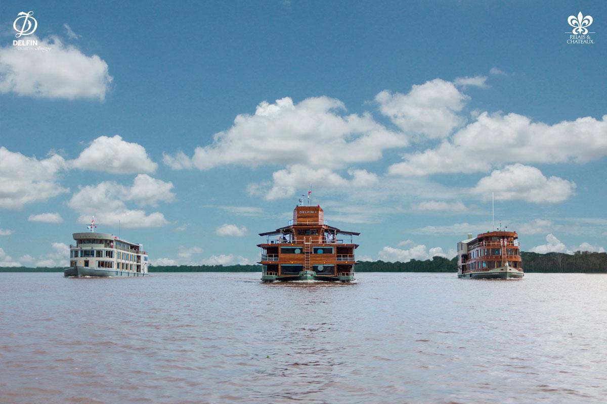 海豚号亚马逊河轮<br/>Delfin Amazon Cruises